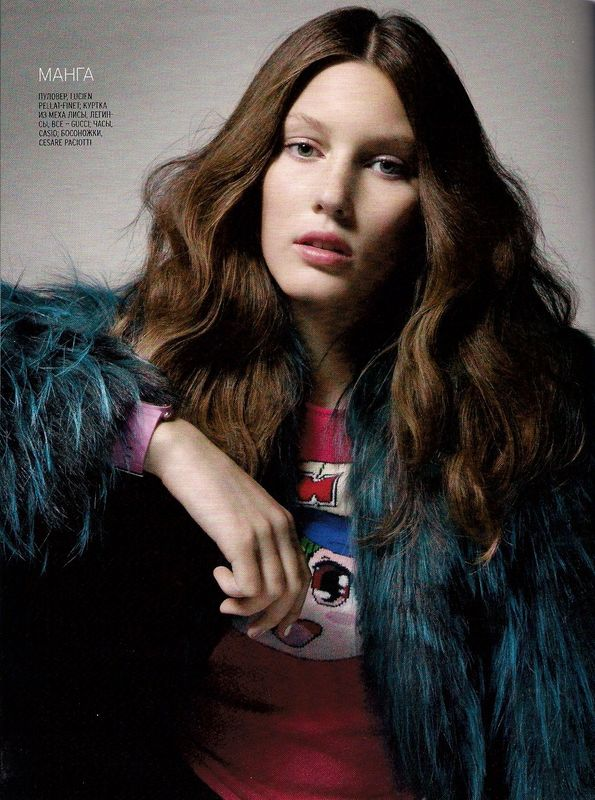russian marie claire - veroniek gilkens - all about models - scans