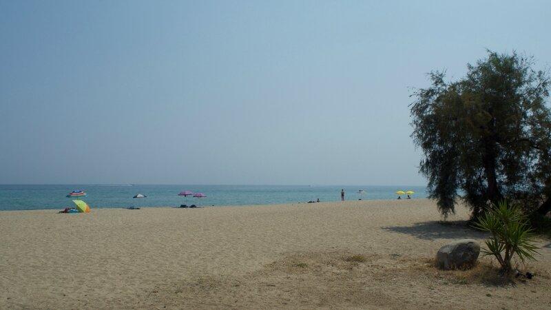 Plage près de Bastia