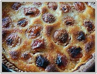 Tarte aux abricots et poudre