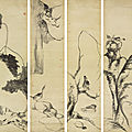 Bada shanren (zhu da, 1626-1705), birds and ducks