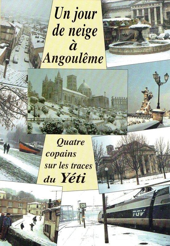 Un jour de neige a Angouleme
