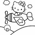HELLO KITTY PILOTE
