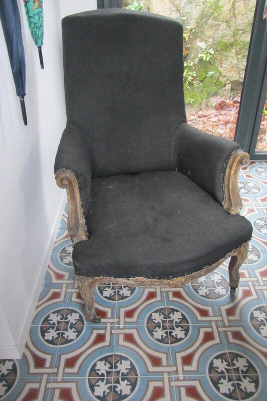 fauteuil anglais à retapisser (2)