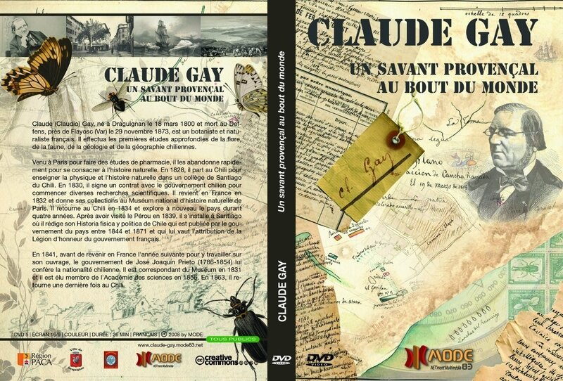 Claude Gay dvd