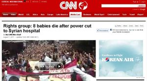 Rights group- 8 babies die after power cut to Syrian hospital - CNN