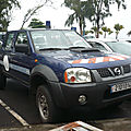 Nissan np300 pick-up double cabine gendarmerie