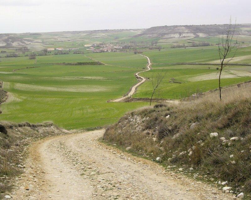 Chemin avant Hornillos del Camino