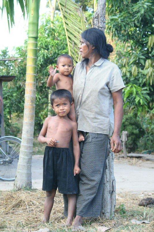 famille khmer