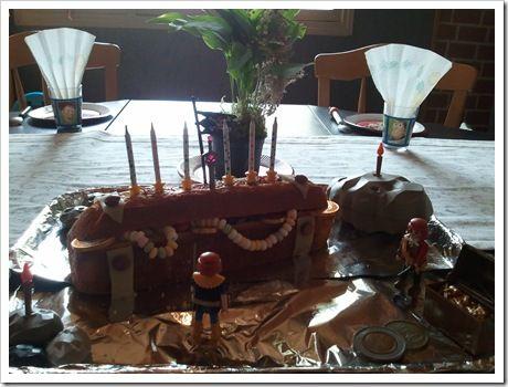 gâteau trésor!