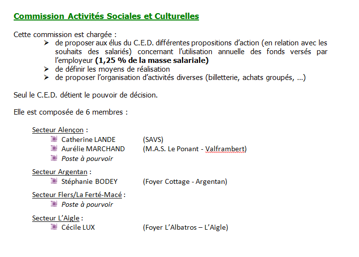 commissions facultatives 2