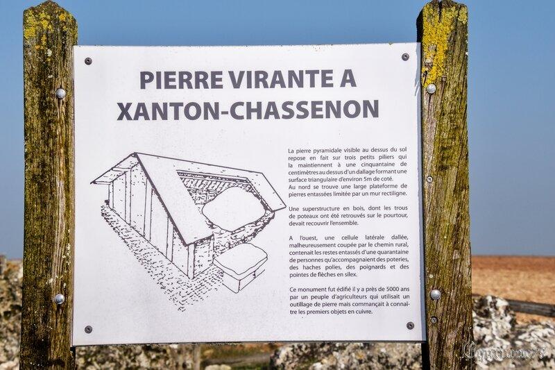 Bas Poitou Monument mégalithique de Pierre-Virante à Xanton-Chassenon (5)