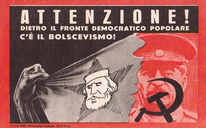 16propaganda_1948 anti Fronte Democratico Popolarebis