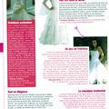 Parution mariée magazine janvier-février 2008