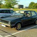 Vw golf 1 GX (Rencard Burger King septembre 2011) 01