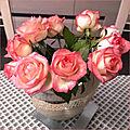 Je vous offre des fleurs