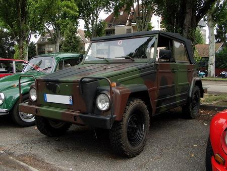 VOLKSWAGEN Type 181 Kurierwagen 1969 à 1983 Retrorencard 1