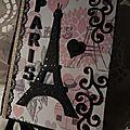 Paris en noir et rose ...