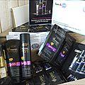 age defy shampoing et soins pantene expert collection ( echantillons inside)