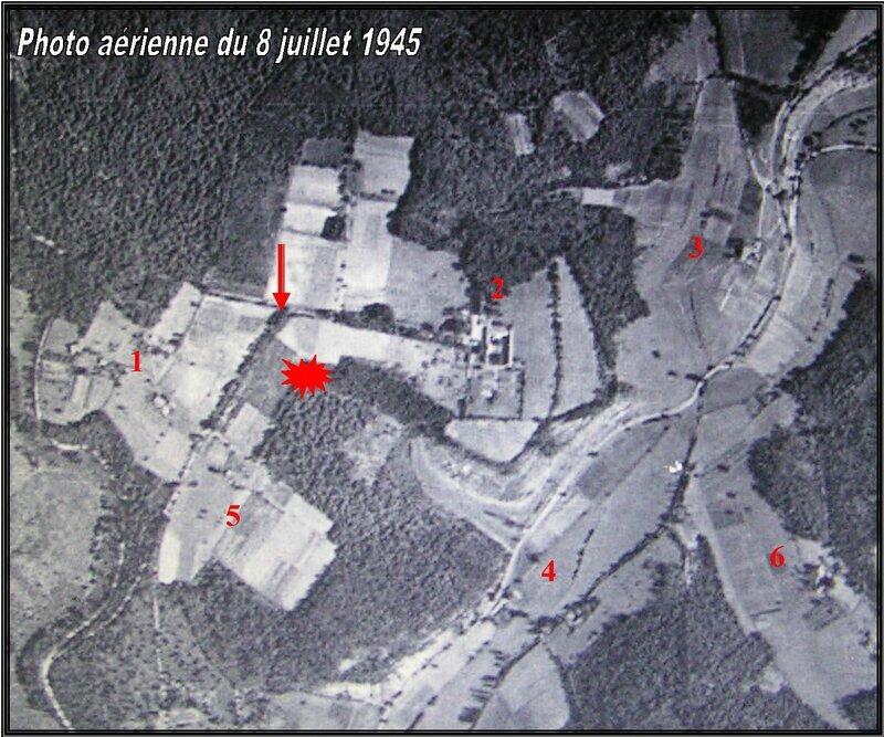 vue aérienne de 1945