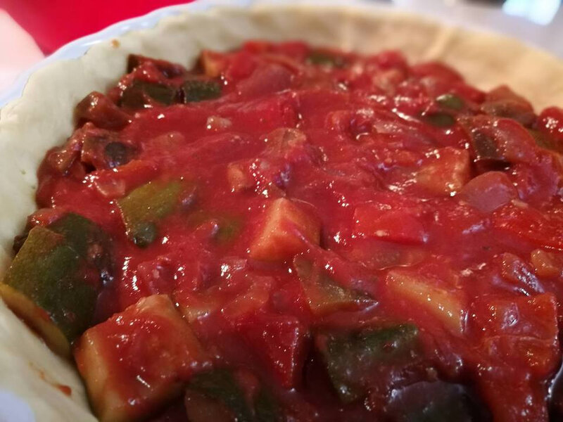 tarte ratatouille 1