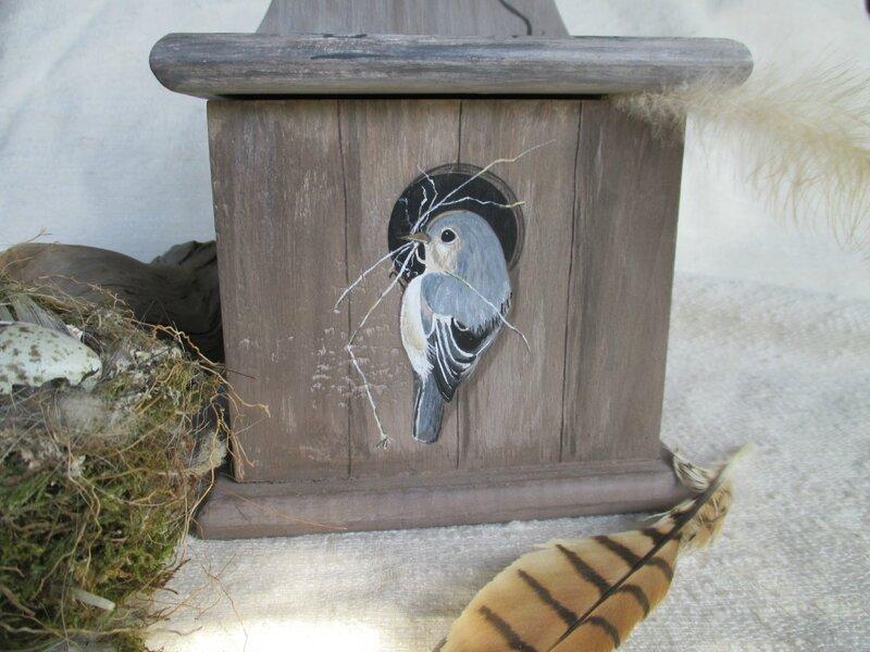 oiseau & nichoir