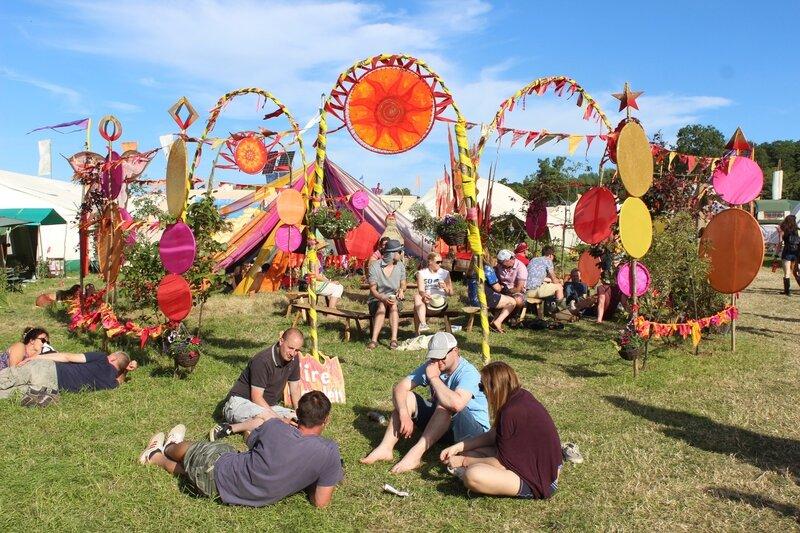 Glastonbury festival The Green Fields 2015