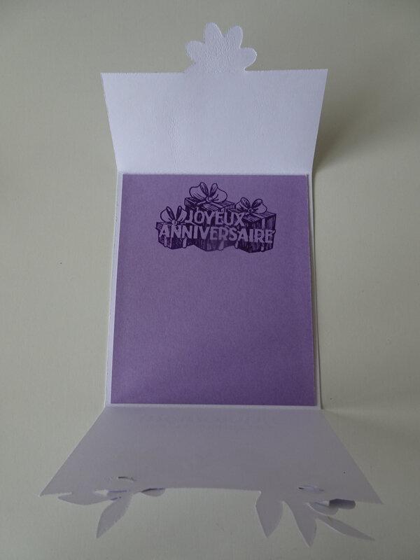 27e Atelier Carte enveloppe 3 plis Lot Bouquet Blooms