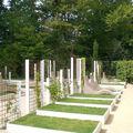 Quel jardin serait plus partagé qu'un cimetière ?