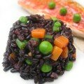Filet de rouget barbet sauce tamarin, riz Venere aux saveurs orientales (La cuisine de Mercotte)