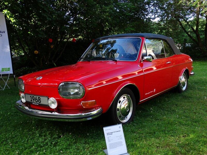 VOLKSWAGEN 411L cabriolet Karmann 1968 Baden Baden (1)