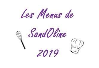 menus 2019