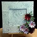 Atelier claret - cadre fleuri