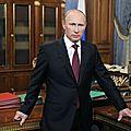 Présidentielle russe : vladimir poutine réélu dès le premier tour (résultats partiels)