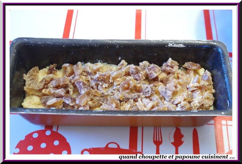 Pudding de pain perdu aux marrons glacés, crème anglaise à la châtaigne-6558