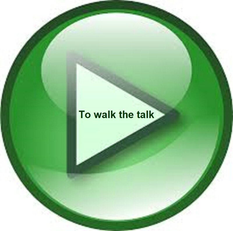 to walk the talk (2)