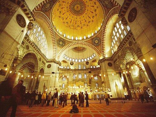 mosquee-suleymaniye-interieur