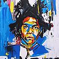 Jean-michel basquiat, l'enfant radieux aux pieds nus (jusqu'au 21 janvier 2019)