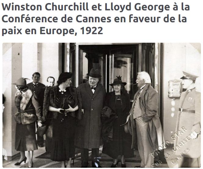 2020-09-20 13_51_53-Winston Churchill et Lloyd George à la Conférence de Cannes en faveur de la paix