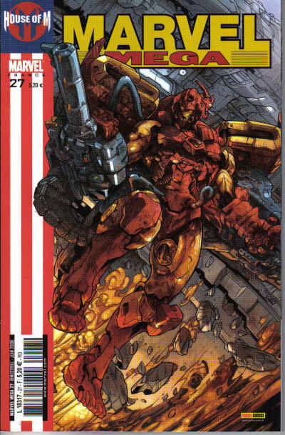house of M marvel mega 27 iron man