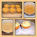 Crème glacée à l'orange servie dans son écorce ...