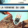 La vermine du lion - francis carsac
