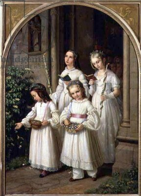 Nusseld_French_19th_century_The_First_Communion