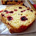 Cake betterave cranberries