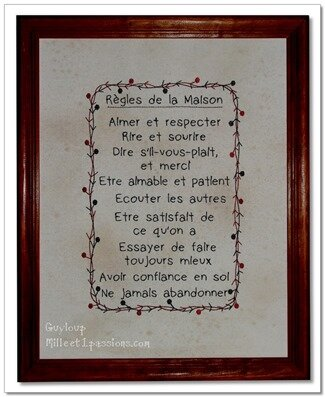 ♥ Motifs textes style country américain ♥