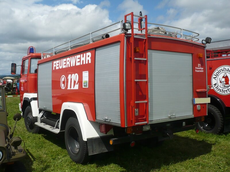 MAGIRUS DEUTZ 130 D-7 Freiwillige Feuerwehr Eutingen (2)