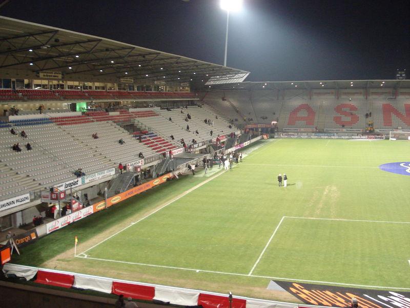 Tribune Jacquet- Stade Picot