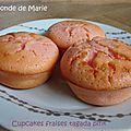 Cupcakes fraise tagada pink ...