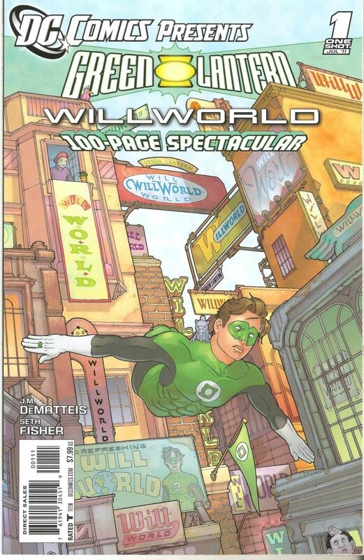 DC comics presents green lantern willworld
