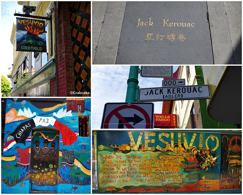 Vesuvio Cafe Jack Kerouac Alley San Francisco