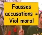 Fausses accusations
